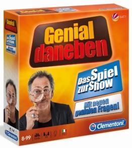 Clementoni Spiel Genial Daneben 2018