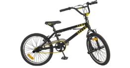 Fahrrad BMX 20 Zoll Free Style schwarz/gelb