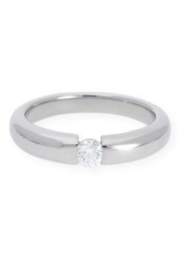 JuwelmaLux Goldring »Verlobungsring Weißgold 750/000 mit Brillant«