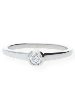 JuwelmaLux Silberring »Verlobungsring«