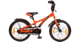 Kinderfahrrad BRONX Race 16 Zoll, orange