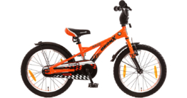 Kinderfahrrad BRONX Race 18 Zoll, orange