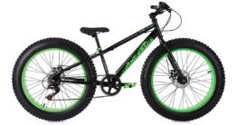 Mountainbike MTB 24 Zoll Fatbike SNW2458 Mountainbikes schwarz
