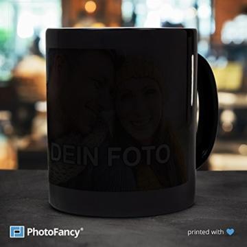 PhotoFancy® - Zaubertasse mit Foto Bedrucken Lassen - Magic Mug Personalisieren – Fototasse Zauberbecher selbst gestalten - 2