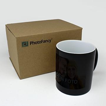 PhotoFancy® - Zaubertasse mit Foto Bedrucken Lassen - Magic Mug Personalisieren – Fototasse Zauberbecher selbst gestalten - 4