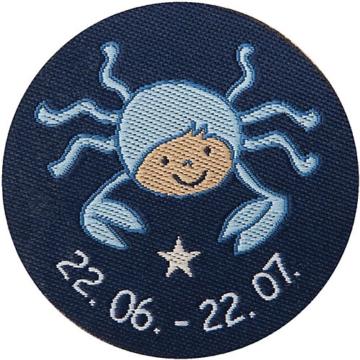 Schmusetuch Krebs, blau (48831)