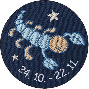Schmusetuch Skorpion, blau (48835)