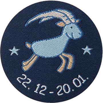 Schmusetuch Steinbock, blau (48837)