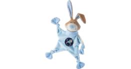 Schmusetuch Stier, blau (48829)