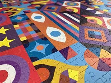 Cloudberries Symmetry – Anspruchsvolles, symmetrisches 1000-teiliges Puzzle für Erwachsene in leuchtenden, kräftigen Farben! - 3
