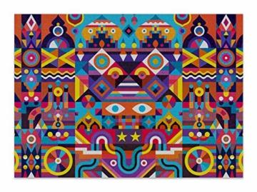 Cloudberries Symmetry – Anspruchsvolles, symmetrisches 1000-teiliges Puzzle für Erwachsene in leuchtenden, kräftigen Farben! - 4