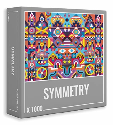 Cloudberries Symmetry – Anspruchsvolles, symmetrisches 1000-teiliges Puzzle für Erwachsene in leuchtenden, kräftigen Farben! - 1
