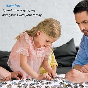 Coolzon Jigsaw Puzzle 1000 Teile, 1000 Stück Puzzles für Erwachsene Kinder Freunde, Intellektuelles Psychedelisches Kartenspiel(Tierwelt) - 3