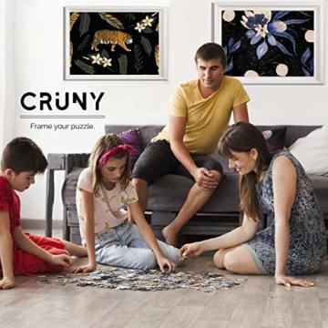 Cruny Puzzle 1000 Teile für Erwachsene - Magischer Löwe in 3D - Tolle Wanddekoration, 1000 Teile Puzzle, Puzzle Erwachsene 1000 Teile, Puzzle 1000 Teile Tiere, Puzzle Löwe 1000 Teile, 66x47cm - 5