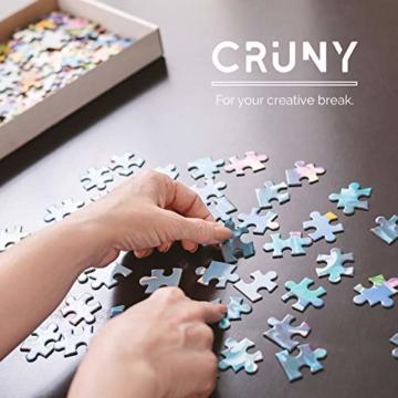 Cruny Puzzle 1000 Teile für Erwachsene - Magischer Löwe in 3D - Tolle Wanddekoration, 1000 Teile Puzzle, Puzzle Erwachsene 1000 Teile, Puzzle 1000 Teile Tiere, Puzzle Löwe 1000 Teile, 66x47cm - 6