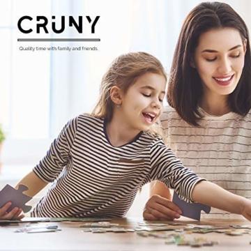 Cruny Puzzle 1000 Teile für Erwachsene - Magischer Löwe in 3D - Tolle Wanddekoration, 1000 Teile Puzzle, Puzzle Erwachsene 1000 Teile, Puzzle 1000 Teile Tiere, Puzzle Löwe 1000 Teile, 66x47cm - 8