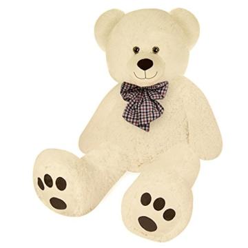 Deuba Riesen Teddy Bär XL-XXXL Teddybär 100-175cm samtig weich Plüsch Kuscheltier Plüschbär Farbwahl - 2
