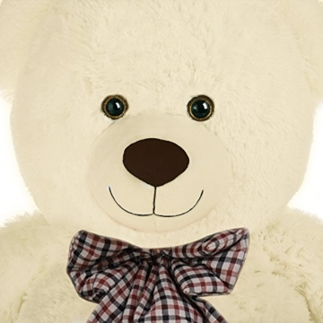 Deuba Riesen Teddy Bär XL-XXXL Teddybär 100-175cm samtig weich Plüsch Kuscheltier Plüschbär Farbwahl - 3
