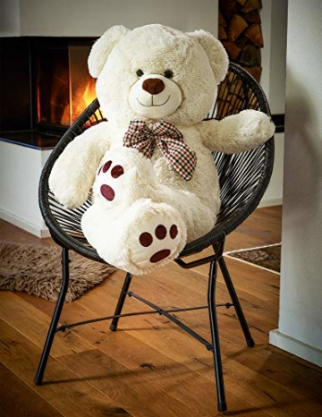 Deuba Riesen Teddy Bär XL-XXXL Teddybär 100-175cm samtig weich Plüsch Kuscheltier Plüschbär Farbwahl - 6
