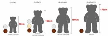 Deuba Riesen Teddy Bär XL-XXXL Teddybär 100-175cm samtig weich Plüsch Kuscheltier Plüschbär Farbwahl - 7