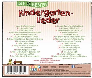 Die 30 besten Kindergartenlieder - Mit Liedtexten zum Mitsingen - 2