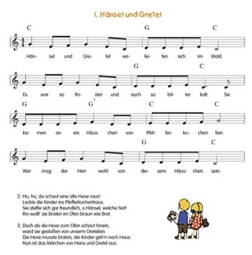 Die 30 besten traditionellen Kinderlieder - mit Liedtexten und Noten - 2