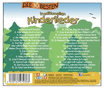 Die 30 besten traditionellen Kinderlieder - mit Liedtexten und Noten - 3