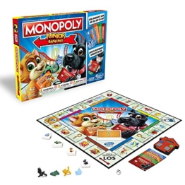 Hasbro Gaming E1842100 - Monopoly Junior Banking Kinderspiel - 1