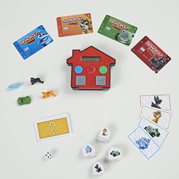 Hasbro Gaming E1842100 - Monopoly Junior Banking Kinderspiel - 2