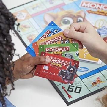 Hasbro Gaming E1842100 - Monopoly Junior Banking Kinderspiel - 4