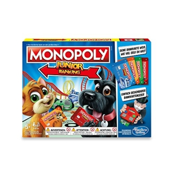 Hasbro Gaming E1842100 - Monopoly Junior Banking Kinderspiel - 6