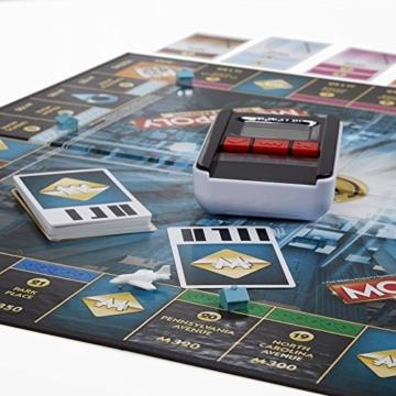 Hasbro Monopoly Banking Ultra - Klassiker der Brettspiele mit elektronischem Kartenleser, Familienspiel ab 8 Jahren - 2