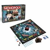Hasbro Monopoly Banking Ultra - Klassiker der Brettspiele mit elektronischem Kartenleser, Familienspiel ab 8 Jahren - 1