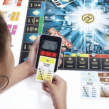 Hasbro Monopoly Banking Ultra - Klassiker der Brettspiele mit elektronischem Kartenleser, Familienspiel ab 8 Jahren - 4