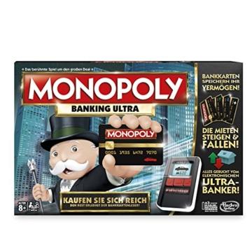 Hasbro Monopoly Banking Ultra - Klassiker der Brettspiele mit elektronischem Kartenleser, Familienspiel ab 8 Jahren - 5