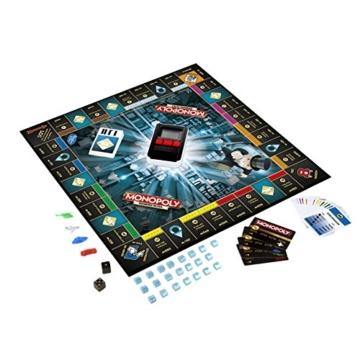 Hasbro Monopoly Banking Ultra - Klassiker der Brettspiele mit elektronischem Kartenleser, Familienspiel ab 8 Jahren - 6