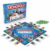 Hasbro Monopoly E6603100 Monopoly Fortnite Edition, Familienspiel, Multicolor - 1