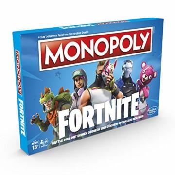 Hasbro Monopoly E6603100 Monopoly Fortnite Edition, Familienspiel, Multicolor - 3
