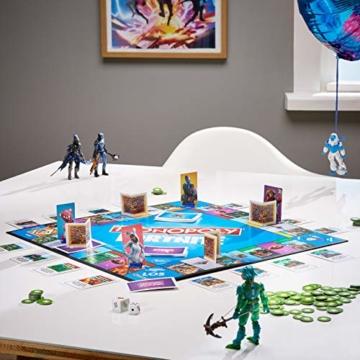 Hasbro Monopoly E6603100 Monopoly Fortnite Edition, Familienspiel, Multicolor - 5
