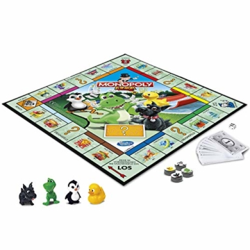 Hasbro Monopoly - Junior, der Klassiker der Brettspiele für Kinder, Familienspiel, ab 5 Jahren - 2