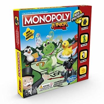 Hasbro Monopoly - Junior, der Klassiker der Brettspiele für Kinder, Familienspiel, ab 5 Jahren - 3