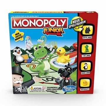 Hasbro Monopoly - Junior, der Klassiker der Brettspiele für Kinder, Familienspiel, ab 5 Jahren - 4