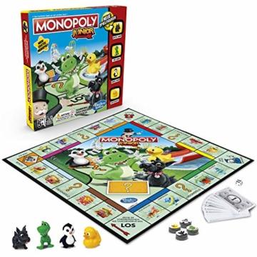 Hasbro Monopoly - Junior, der Klassiker der Brettspiele für Kinder, Familienspiel, ab 5 Jahren - 1