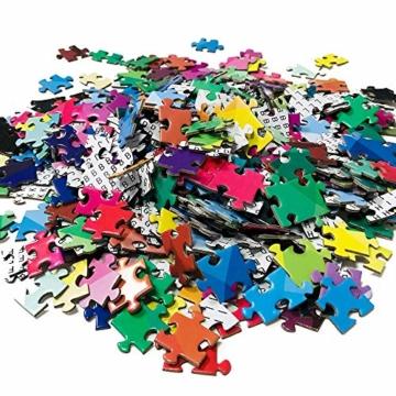 HUADADA Puzzle 1000 Teile ,Puzzle für Erwachsene, Runde Puzzle farbenfrohes Legespiel ,Geschicklichkeitsspiel für die ganze Familie, Regenbogen Puzzle,Erwachsenenpuzzle ab 12 Jahren. - 8