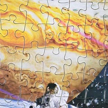 HUADADA Puzzle 1000 Teile Puzzle Star Wars 1000 Teile Herausforderung Puzzle 1000 Teile Weltraum Puzzle für Erwachsene 1000 Teile Das Sonnensystem Planeten im Weltraum das Puzzlespiel Jigsaw Puzzle - 2
