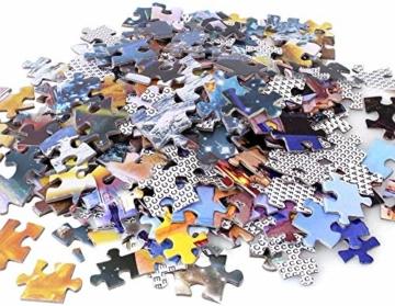 HUADADA Puzzle 1000 Teile Puzzle Star Wars 1000 Teile Herausforderung Puzzle 1000 Teile Weltraum Puzzle für Erwachsene 1000 Teile Das Sonnensystem Planeten im Weltraum das Puzzlespiel Jigsaw Puzzle - 5