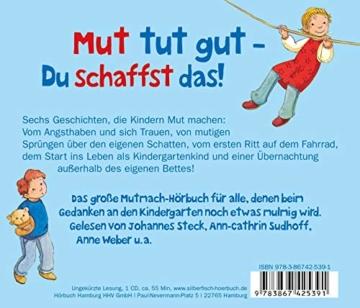 Kindergarten-Geschichten, die Mut machen: 1 CD - 2