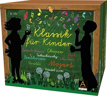 Klassik für Kinder: Große Meisterwerke für kleine Hörer in einer Box - 1