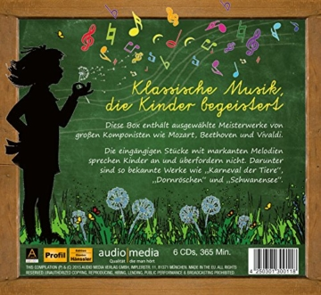 Klassik für Kinder: Große Meisterwerke für kleine Hörer in einer Box - 2