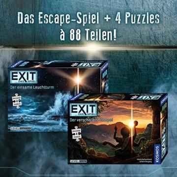 KOSMOS 692094 EXIT - Das Spiel + Puzzle - Der verschollene Tempel, Level: Einsteiger, Escape Room Spiel mit Puzzle - 10